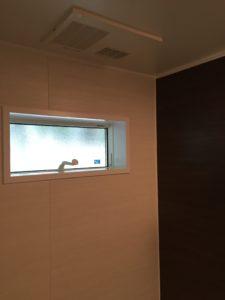 UBの窓は断熱窓を使用しています(^^)/
